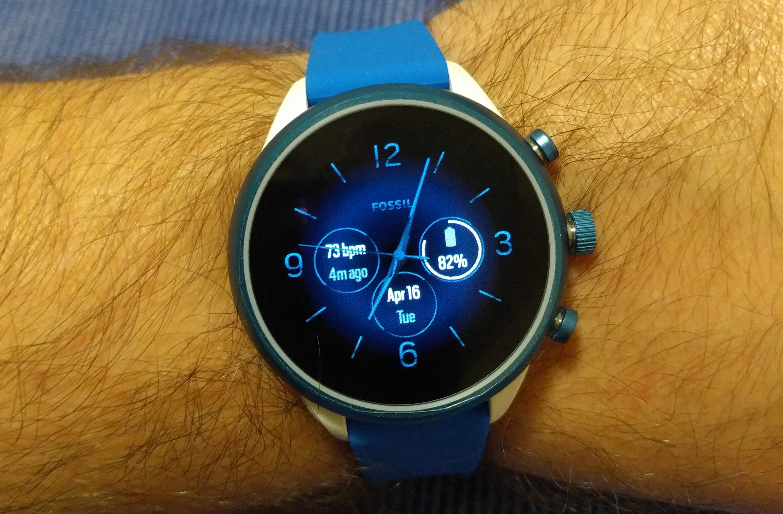 Fossil Sport: Double Battery Life with One Setting